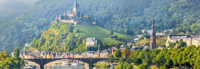 Mosel: Aussicht auf Cochem